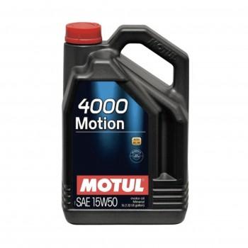MOTUL 4000 MOTION 15W-50