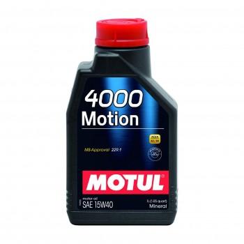 HUILE MOTEUR MOTUL 4000...