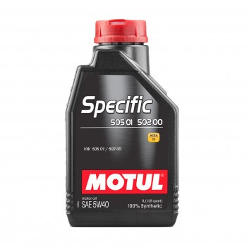 MOTUL SPECIFIC 505 01 502...