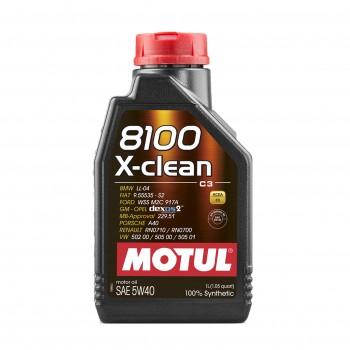 MOTUL 8100 X-CLEAN C3 5W40